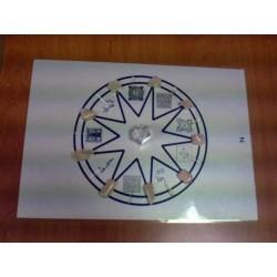 Mandala minéral de la Lune (pierre de lune)