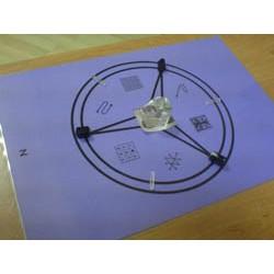Mandala minéral de Saturne