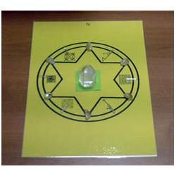 Mandala minéral du Soleil